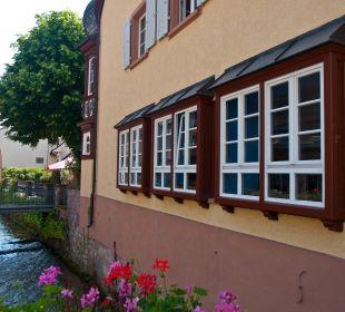 Außenansicht Hotelgebäude Badischer Hof Hotel