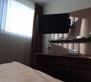 Blick vom Bett Astor und Aparthotel