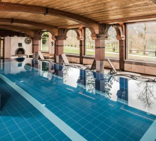 Hallenbad mit Bergblick Hotel Prinz - Luitpold - Bad