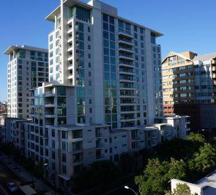 Ausblick vom Balkon Best Western Hotel Bayside Inn
