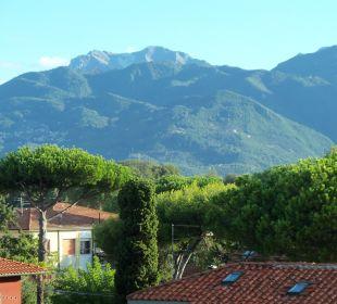 Ausblick vom Balkon Hotel Fortunella