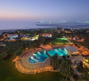 Ausblick zum Meer Le Royal Méridien Beach Resort & Spa Dubai