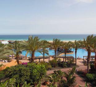 Schöne Aussicht auf das Meer Hotel Barcelo Jandia Playa