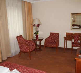 Viel Raum und Platz  Hotel Stefanie
