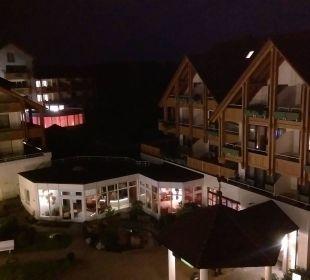 Blick von unserem Zimmer Nr. 144 Ringhotel Krone Schnetzenhausen