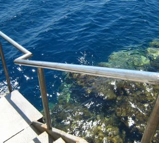 Abgang ins Meer