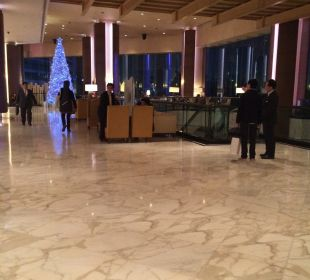 Die Lobby Renaissance Harbour View Hotel Hong Kong