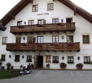 Außenansicht Landhotel Hoisl-Bräu