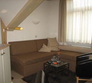 Turmzimmer: Couchecke Hotel Staudacherhof