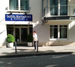 Außenansicht Hotel Hanseport Hamburg
