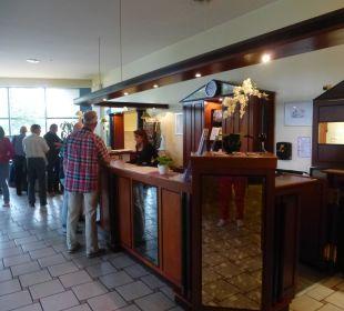 Rezeption Comfort Hotel Weißensee