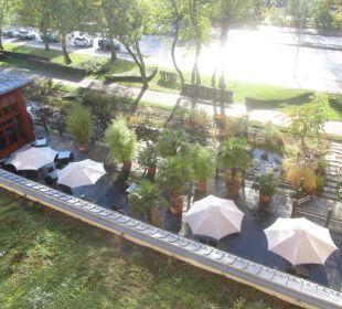 Restaurant-Terrasse Lindner Park-Hotel Hagenbeck