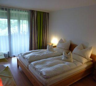 Schlafraum Komfortzimmer Pension Haus Hochstein