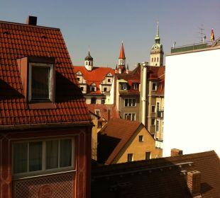 Aussicht aus Zimmer 419 Hotel Platzl