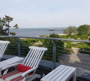 Wellnessterrasse mit Super Aussicht Strandhotel Ostseeblick