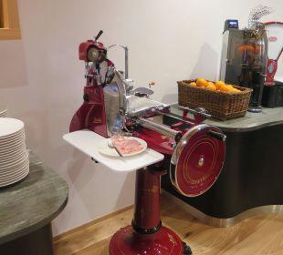 """""""Meine"""" Speckschneidemaschine Beauty & Wellness Resort Hotel Garberhof"""