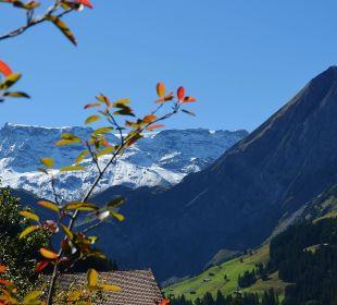 Aussicht von der Terrasse Hotel Alpina