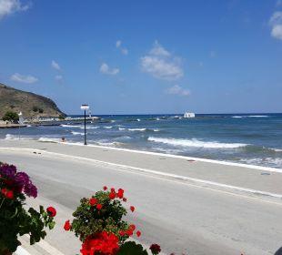 Ausblick vom Restaurant Hotel Corissia Princess