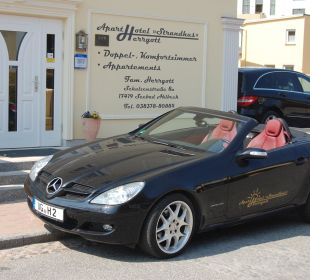 Mercedes SLK Hotelcabrio 49,- Euro/ Tag Aparthotel Strandhus
