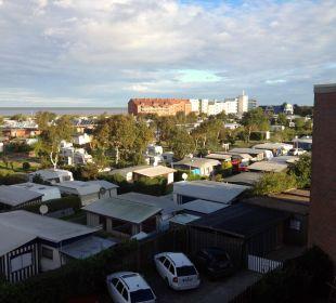 Blick vom Balkon Hotel Wernerwald