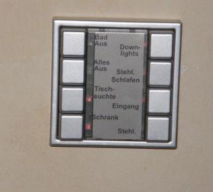 EIB-Steuerung der Beleuchtungsanlage Burghotel Staufeneck