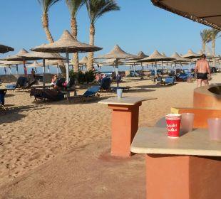 Blick von der Beachbar