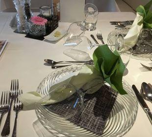 Jeden Tag eine andere Tischdeko Luxury DolceVita Resort Preidlhof