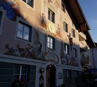 Außenansicht Romantik Hotel Sonne