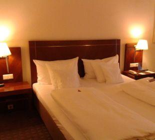 Bett Sheraton Carlton Hotel Nürnberg