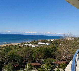 Von der 4. Etage Richtung Antalya/Kemer Hotel Alba Royal