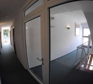 Innenansicht Gästehaus AKZENT Berghotel Rosstrappe