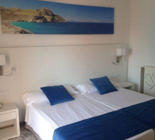 Nuestra habitacion a la llegada Hotel Calma