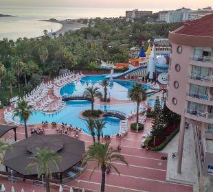 Ausblick aus dem Zimmer Kirman Hotels Leodikya Resort