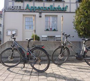 Mietvelos (E-Bikes) Hotel Appenzellerhof