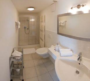 Helle geräumige Badezimmer Appartement & Weingut Linter