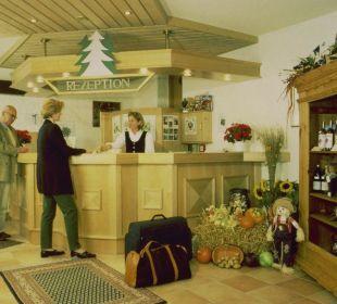 Lobby/Eingang Hotel Landhaus Silbertanne