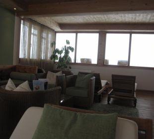 Teeraum mit Panoramablick