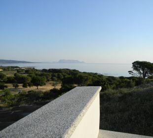 Baia Residence 189/10 Blick von der Terrasse Sardafit Ferienhaus Budoni