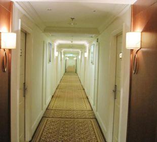 Flur zu den Zimmern Achti Resort Luxor