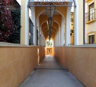 Passage du parc à l'hotel Hotel Colosseo Europa-Park