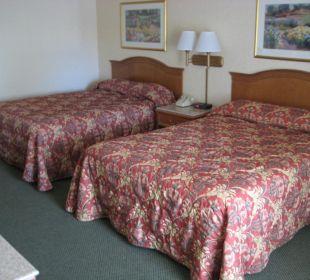 Zimmer - sauber und geräumig Best Western Hotel A Wayfarer's Inn
