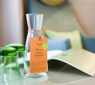 Wienerwasser lecker Das Capri.Ihr Wiener Hotel