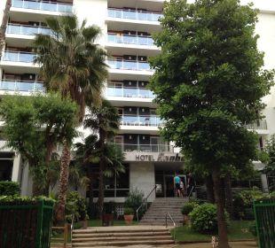 Hoteleingang Hotel Anabel
