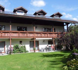 Terrasse Ferienwohnung Lettenmaier