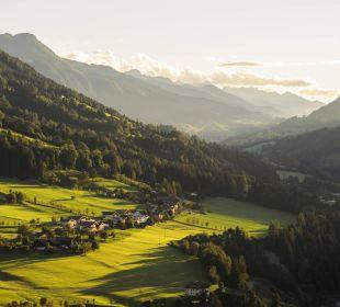Ausblick ins Salzachtal Aktivhotel Alpendorf