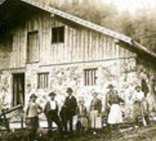 So sah's aus 1926 Berggasthof Rosengasse