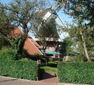 Durchgang zum Haupthaus Landgasthof Hengstforder Mühle
