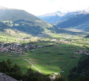 Blick vom Balkon ins Tal Alpin & Relax Hotel Das Gerstl
