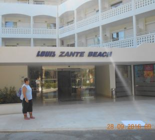 Haupteingang Hotel Hotel Louis Zante Beach
