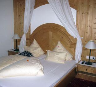 Schlafzimmer Hotel Bergkristall